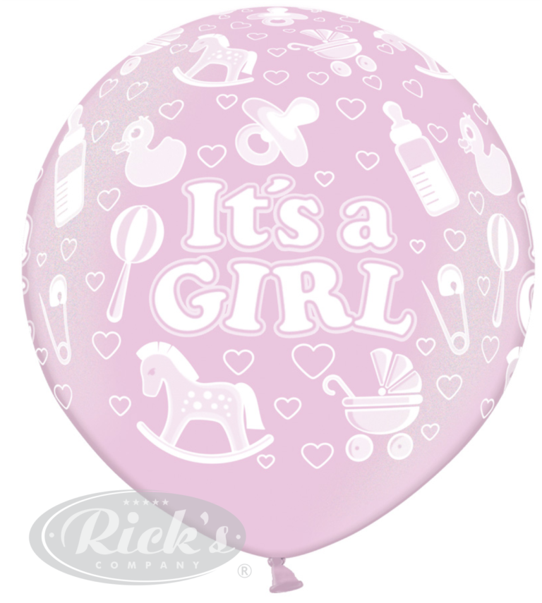 giant ballon bedrukking all round rondom